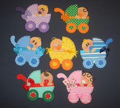 toys - Recycling fun and crafts: Babies in Cart