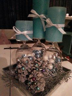 Table decoration for christmass