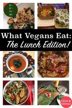 What Vegans Eat for Lunch #whatveganseat