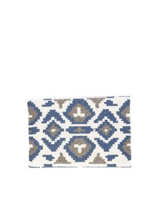 Fold Over Beaded Navajo Clutch by Moyna