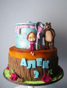 Masha and the bear cake - Cake by Rositsa Lipovanska Baby Birthday Cakes, 3rd Birthday, Birthday Ideas, Happy Birthday, Beautiful Pregnancy, Masha And The Bear, Bear Cakes, Girl Cakes, Daily Inspiration