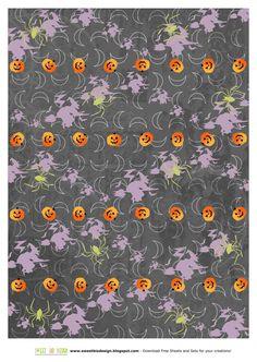 SBDSet di carte Sweet Halloween - scrapbooking papersby SweetBioDesign