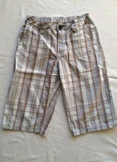 Kaufe meinen Artikel bei #Mamikreisel http://www.mamikreisel.de/kleidung-fur-jungs/kurze-shorts/35575005-helle-karierte-shorts-von-hm-aus-ganz-leichtem-baumwollstoff