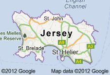 The Island Jersey in the English Channel