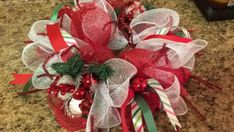 56 Excellent Christmas Wearth Decoration For Your Door. Flowers play a significant role in Christmas decorations, all over the world. People decorate their homes and work places with a variety . Christmas Mesh Wreaths, Christmas Swags, Handmade Christmas Decorations, Christmas Centerpieces, Christmas Crafts, Christmas Games, Christmas Candy, Christmas Ideas, Christmas Ornaments