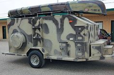 Traveling With Hunting Dogs - Wildfowl Bug Out Trailer, Dog Trailer, Off Road Camper Trailer, Utility Trailer, Tent Trailers, Expedition Trailer, Overland Trailer, Tiny Camper, Camper Caravan