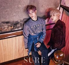 Mark & Jackson for Sure Korea December Photographed by Jang Duk Hwa Mark Jackson, Got7 Jackson, Jackson Wang, Got7 Mark, Mark Tuan, Youngjae, Kim Yugyeom, Markson Got7, Fanfiction