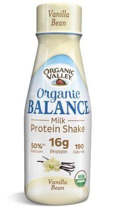 Free Organic Valley Balance Milk Protein Shake