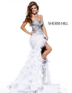 Took me almost two years to save for my first black sherri hill pageant gown! Sherri Hill - GLAM pageant must have!