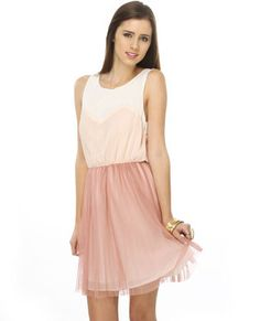 Arabesque pink dress - comfy, but totally chic!!