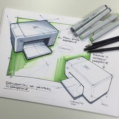 Simple geometry in perspective by Design Sketches
