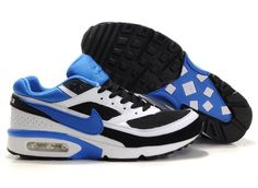 online store b7c43 c5222 Cheap Authentic Nike Air Max Classic BW 91 Mens Blue White And Black Shoes  Online Outlet Store