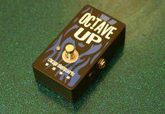 Octave Up Pedal Handbuilt Boutique Guitar Pedal Effect