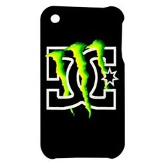 Monster energy cricut pinterest monsters cutting files and cricut new monster energy dc logo apple iphone 3g 3gs case cover voltagebd Images