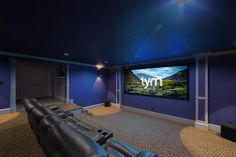 """Salt Lake City Haven by TYM Homes"" TecHome Builder article about TYM's Savant installation for this award-winning parade home. TYMhomes.com #TYMhomes #Savant #HomeTheater #Automation"