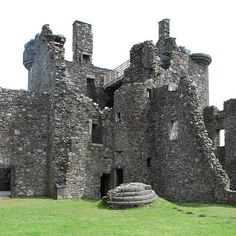 Ancient to Medieval (And Slightly Later) History — Haunted Kilchurn Castle and The Loch Awe Monster ...