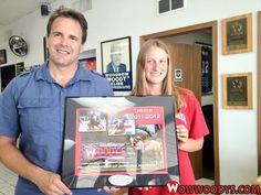 Woody's is proud to sponsor Miranda Mammen!