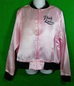 Girl's Amscan Grease Pink Ladies 50s Style Costume Jacket Medium 8 10 | eBay