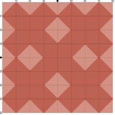 4 Free Needlepoint Patterns from Popular Quilt Blocks-Collection 3: Criss-Cross Needlepoint Quilt Block Coaster Pattern