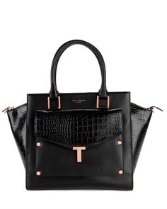 """Ted Baker """"T"""" Tote... Hope my mom never sees this one - She'd have one in every color :D"""