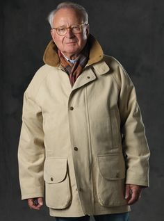 Brushed Cotton Field Coat in Pebble