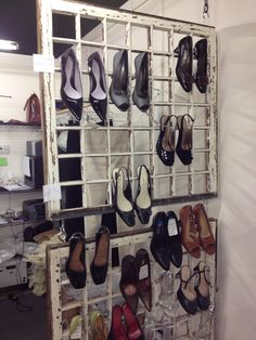 Posh Upscale Resale - New Buffalo, Mi -  displays their shoes. #Perfect