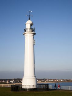 Seaburn Lighthouse, Sunderland, Tyne and Wear, England, United Kingdom, Europe
