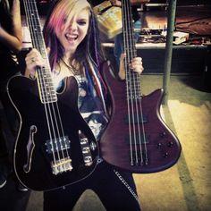 Bass player from cherri bomb!!!