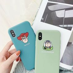 EXVIVER - Ultra Thin Transparent Phone Case mm) with Screen Protector Earphone & Ring Holder Compatible with iPhone 6 Bff Cases, Cute Phone Cases, Iphone Cases Disney, Iphone Phone Cases, Iphone 8, Disney Cartoons, Iphone 6s Plus, Friends Phone Case, Accessoires Iphone