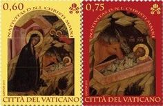 The Vatican's Spectacular Christmas Stamps