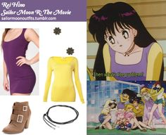 Rei Hino   Sailor Moon Outfits