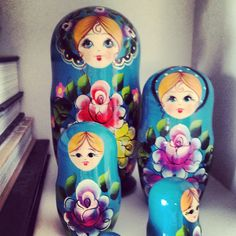 My lovely Babushka bought from a russian nun.
