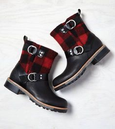 Black Woolrich Baltimore Boot