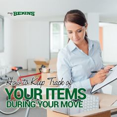 So you have started planning for your next move. Now the time has come to begin packing, but how do you keep track of where your items are located? After you get everything into boxes, it all starts looking the same. While most people make an effort to jot down with marker the general contents of the box, smaller objects can quickly be lost in the chaos. MyBekins has come to the rescue! Here are a few simple and creative ways to keep track of your items during your move.