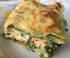 Rezept Lachs-Spinat-Lasagne von isus 2015 - Rezept der Kategorie Hauptgerichte mit Fisch & Meeresfrüchten