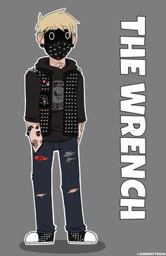 The Wrench  @tumblr razor-art
