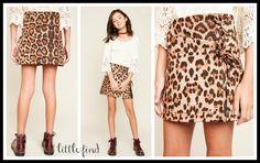 Zoe Leopard Skirt