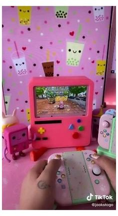 Video Game Rooms, Gaming Room Setup, Kawaii Room, Game Room Design, Cool Gadgets To Buy, Cute Room Decor, Gamer Room, Cool Inventions, Room Ideas Bedroom