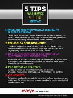 5 Tips para servicio al cliente eficaz