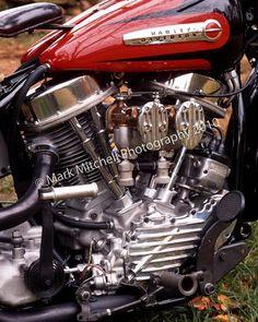 1949 HD Panhead Motor