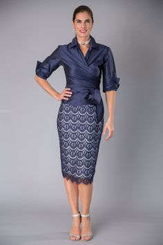 For the classic, modern and elegant mother of the bride and mother of the groom, Living Silk offers the perfect dress and two piece outfit for your special occasion. Experience the elegance of Living Silk. Mother Of Bride Outfits, Mother Of Groom Dresses, Bride Groom Dress, Mother Of The Bride Dresses Knee Length, Fall Dresses, Elegant Dresses, Evening Dresses, Blue Dress Outfits, Moda Outfits
