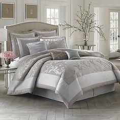 Palais Royale™ Adelaide Comforter Set at Bed Bath & Beyond