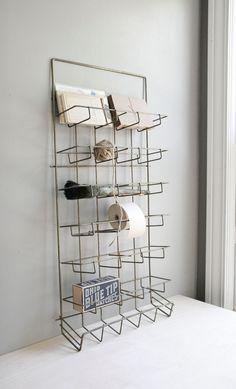 vintage wire shop display