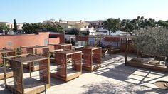 Nueva zona +ZEN en construcción. ¡Muy pronto podréis disfrutar del relax en esta nueva instalación de Camping Mas Nou!