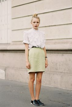 Vanessa Jackman: Paris Fashion Week SS 2014....Marie