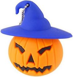 Halloween Pumpkin 64GB USB Flash Drive.