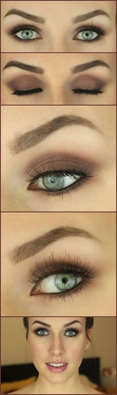 Plum Smokey Eye with the Naked palette.