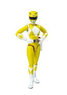 #Mighty Morphin Power Rangers S.H.Figuarts - Yellow Ranger Action Figure - Midtown Comics