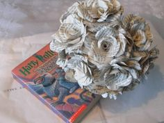 Paper flowers perfect for any Harry Potter fan, wizard or Muggle!