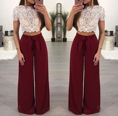 Find images and videos about outfit on We Heart It - the app to get lost in what you love. Cute Casual Outfits, Outfits For Teens, Sexy Outfits, Stylish Outfits, Dress Outfits, Fashion Dresses, Two Piece Outfits Pants, Mode Hijab, Look Fashion